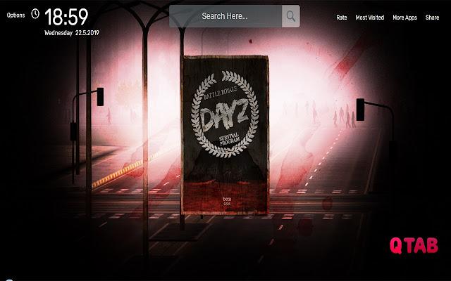 DayZ Battle Royale Wallpapers HD Theme