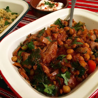 Lamb Stew With Tomatoes Chickpeas And Spices Recipes