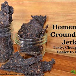 Ground Beef Jerky Recipes.