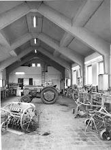 Photo: Werkstatthalle, fertiggestellt 1960