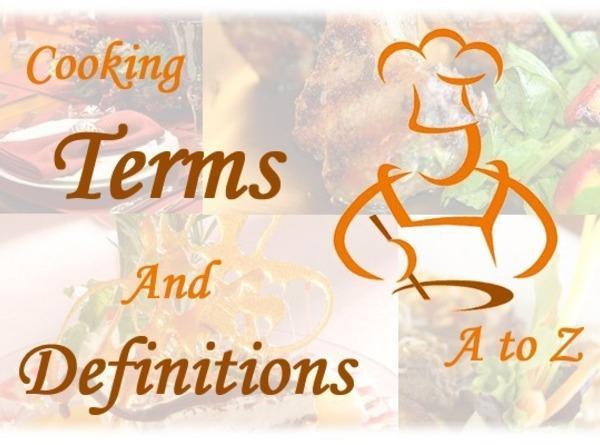 Cooking Terminology Recipe