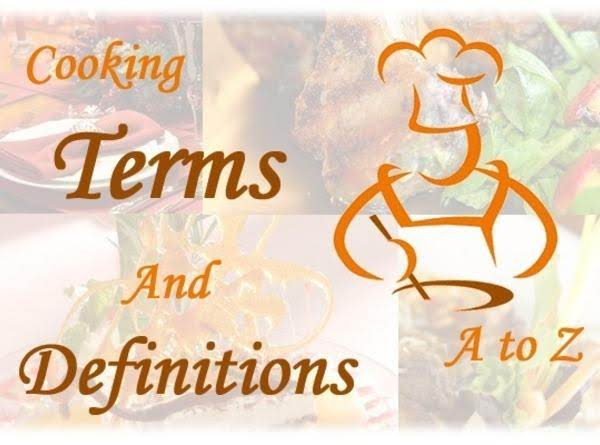 Cooking Terminology Recipe