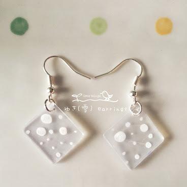 ゆき(雪) earrings