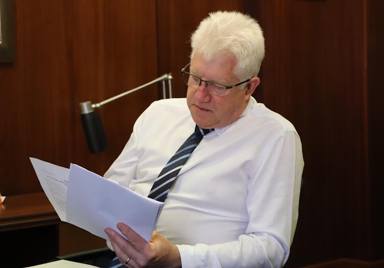 Western Cape premier Alan Winde said the abuse and violation of Covid-19 protocols will not be tolerated. File Photo.