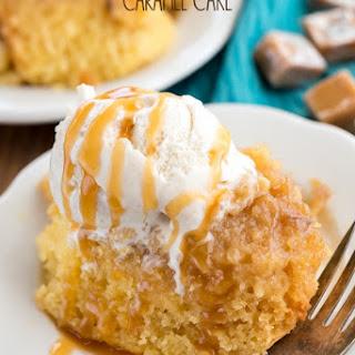 Slow Cooker Caramel Cake