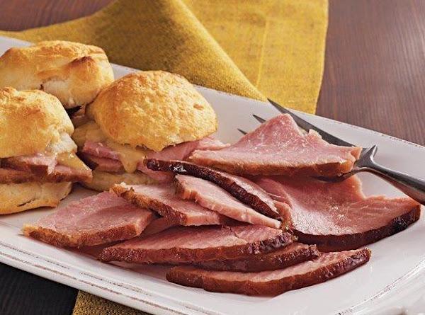 Easy Slow Cooker Ham Recipe