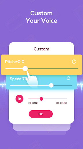 Voice Changer Voice Recorder - Editor & Effect 2.0 screenshots 8