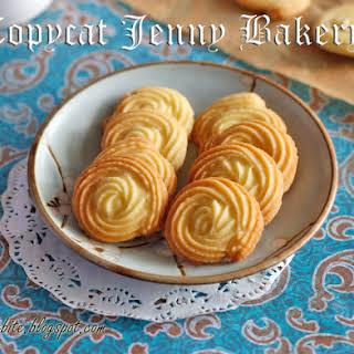 Copycat Jenny Bakery Butter Cookies.