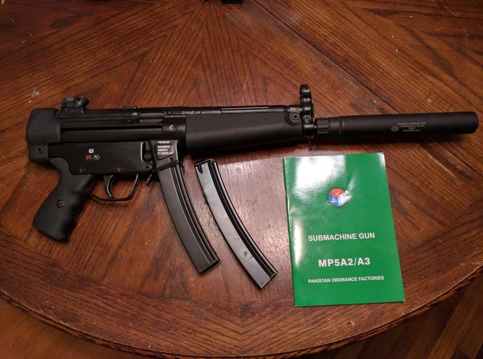 POF-5 Pakistan MP5 Clone    SO EXCITEDDDDDD $1189