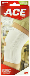 Ace Knitted Knee Brace With Side Stabilisers - Medium, 1 Knee Brace