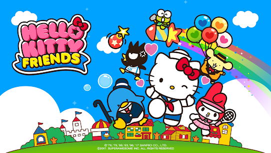 Hello Kitty Friends – Tap & Pop, Adorable Puzzles 6