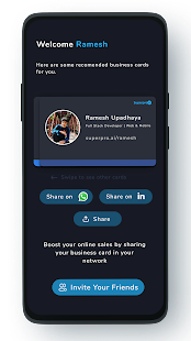 Virtual Business Card Whatsapp Business Card 1 0 Apk Mod Free Purchase For Android