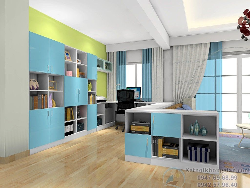thiết kế nội thất phòng khách sáng tạo