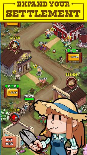 Idle Frontier: Tap Town Tycoon apkdebit screenshots 3