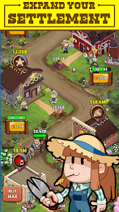 Idle Frontier: Tap Town Tycoon (MOD, Free Upgrade) 3