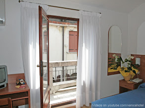 Photo: HOTEL CAPRERA - Double room (french bed) with PRIVATE TERRACE