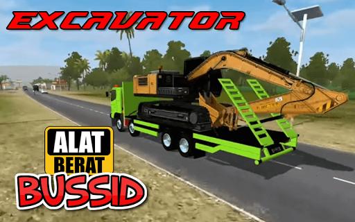 MOD BUSSID EXCAVATOR TRUCK 1.1 screenshots 1