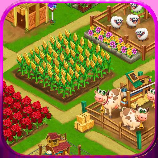 Baixar Dia fazenda aldeia agrícola: jogos offline para Android