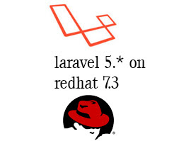 Laravel install on RedHat 7.3