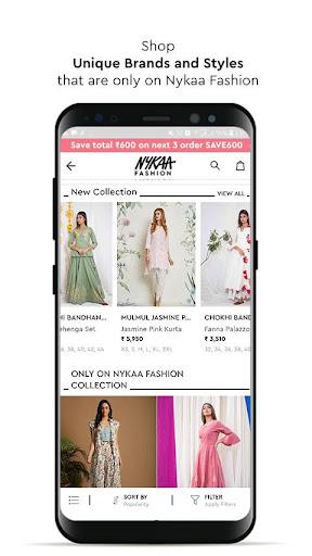 Nykaa Fashion u2013 Online Shopping App screenshots 7