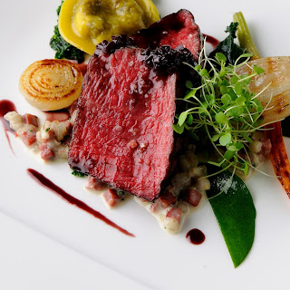 Stonham farm Wagyu beef with oxtail and barley