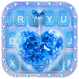 Blue Diamond Keyboard Theme