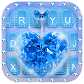 Blue Diamond Keyboard Theme by Fancy Theme for Android keyboard APK