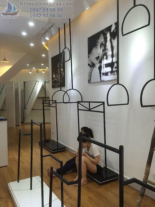 Thi công shop thời trang đẹp như bản vẽ, thiết kế thời trang đẳng cấp