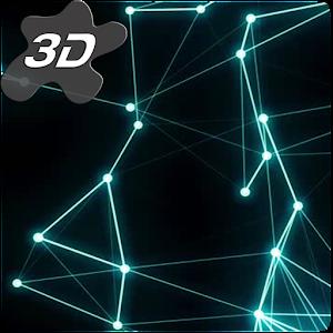 Plexus Particles 3D Live Wallpaper APK Cracked Download