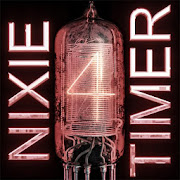 NIXIE clock (WIDGET and TIMER) icon
