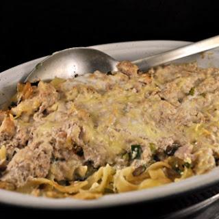 Tuna Spaghetti Pie