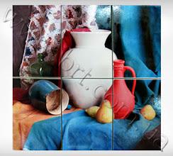 Photo: Панно из керамической плитки. Тип печати - Grawerton (плитку нельзя мыть абразивными чистящими средствами)