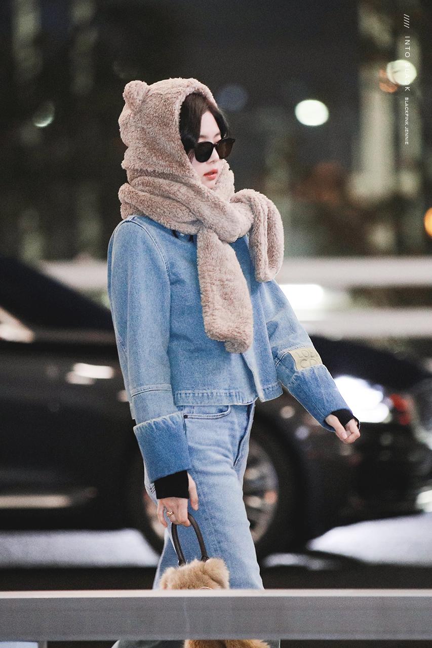 blackpink jennie airport fashion 2019 5