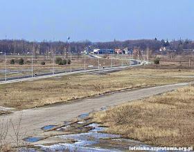 Photo: Droga dojazdowa na lotnisko