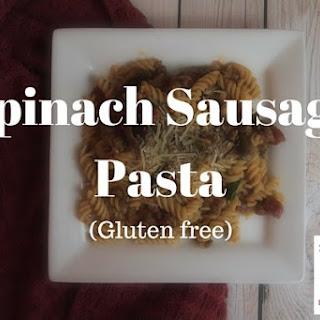 Spinach Sausage Pasta