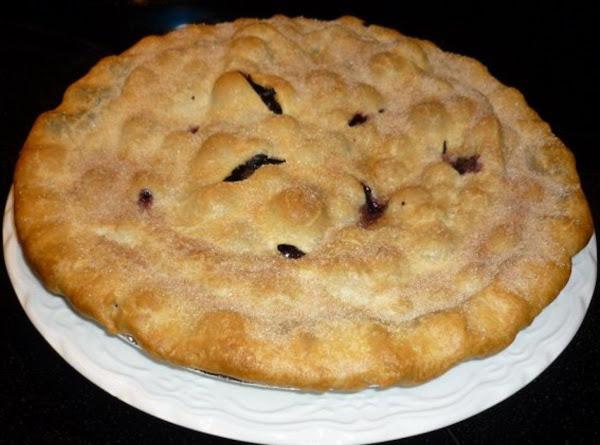 Nana's Blueberry Pie Recipe