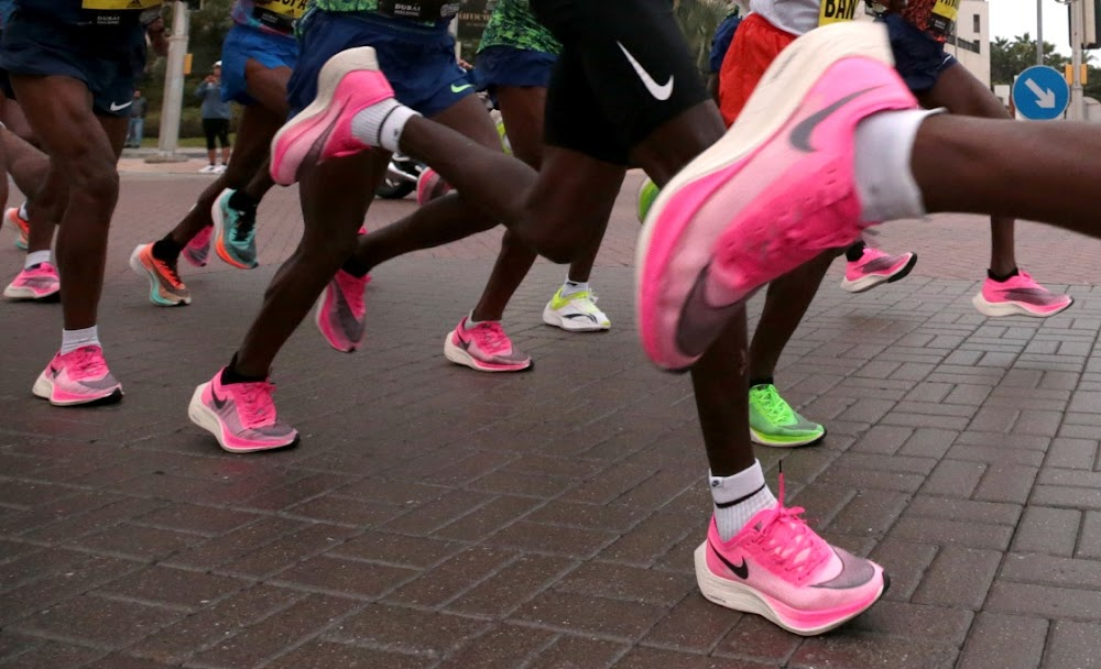 Is running a mile in Nike's Vaporfly shoes cheating? - Business Day