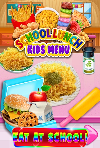 School Lunch Food - Kids Menu Pizza & Ice Cream 1.1 screenshots 9