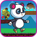 Super Panda run aventure icon