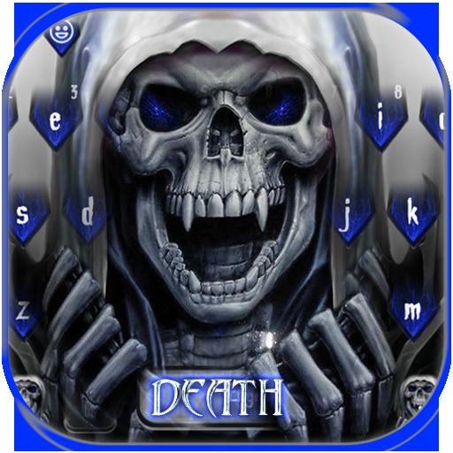 Death Skull Keyboard Theme Revenge