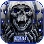 Death Skull Keyboard Theme Revenge