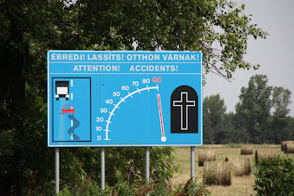 Photo: Day 73 - Great Sign!  (And We Cycled on This Road for 20Kms!)