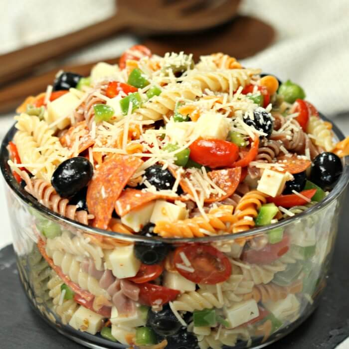 10 Best Cold Pasta Salad With Italian Dressing Recipes