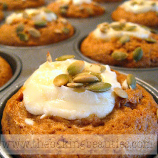 Gluten Free Pumpkin Cheesecake Muffins