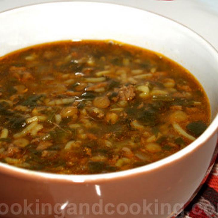 Ashe Berenj (Rice Soup) Recipe