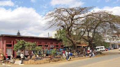 Photo: Lilongwe - craft market in the Old Town (Area 3)