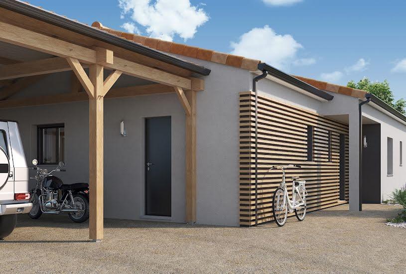 Vente Terrain + Maison - Terrain : 1069m² - Maison : 148m² à Poitiers (86000)