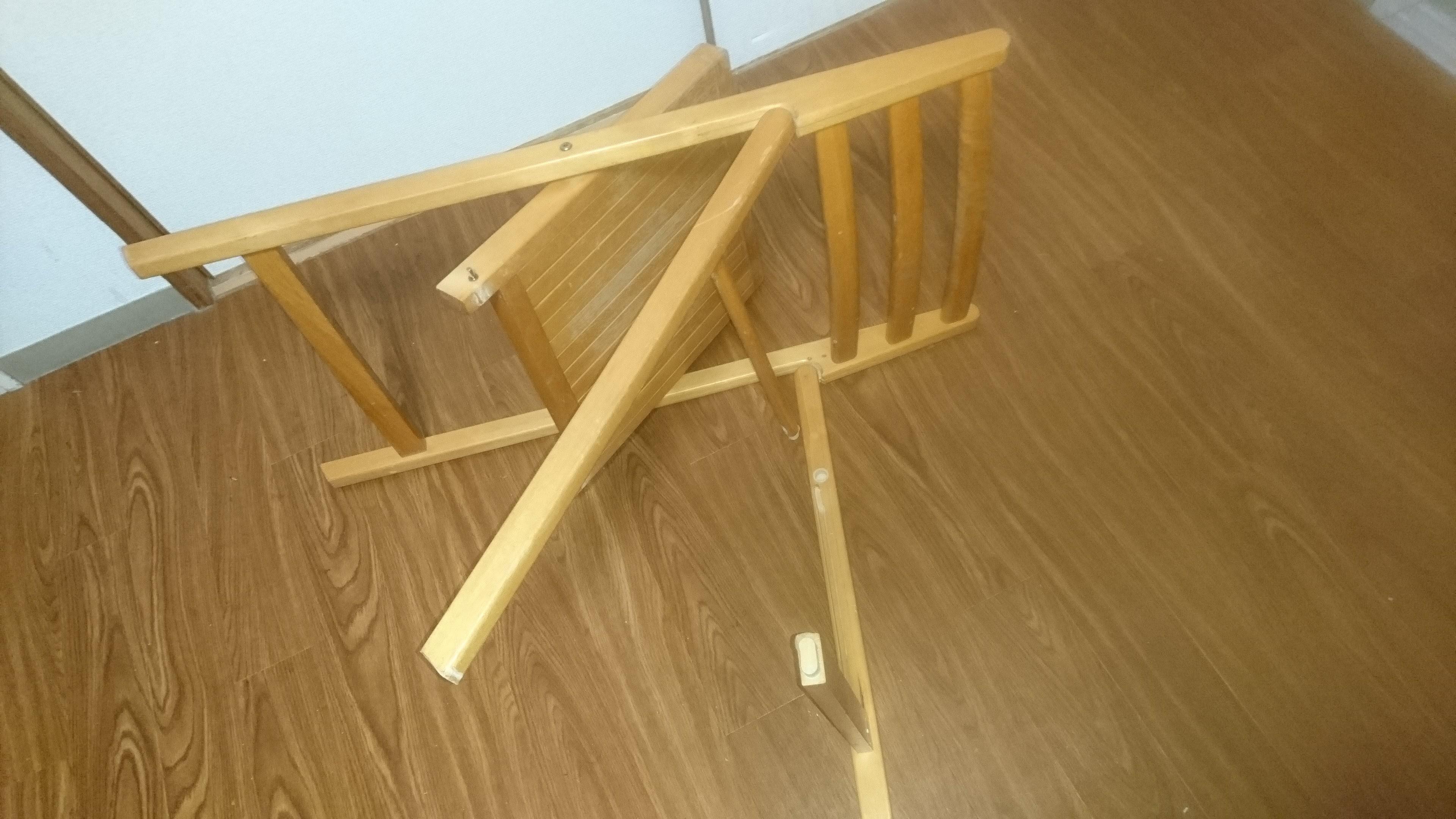 [ともみちくんテロ] チョコレートに興奮して、勢いよく椅子を破壊。