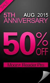 Moon+ Reader Pro (50% OFF) Screenshot 4