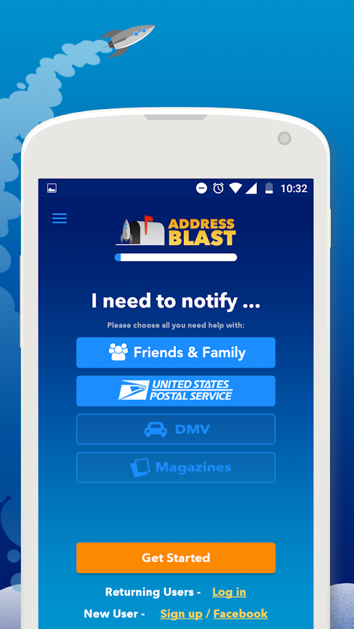 Address Blast- screenshot